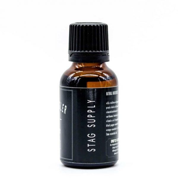 beard oil spice side