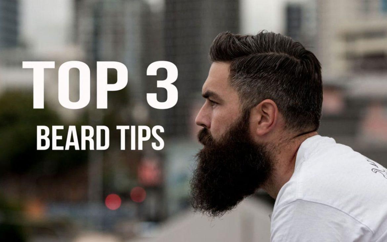 Top 3 Beard Tips Stag Supply Men S Beard Body And Hair Grooming